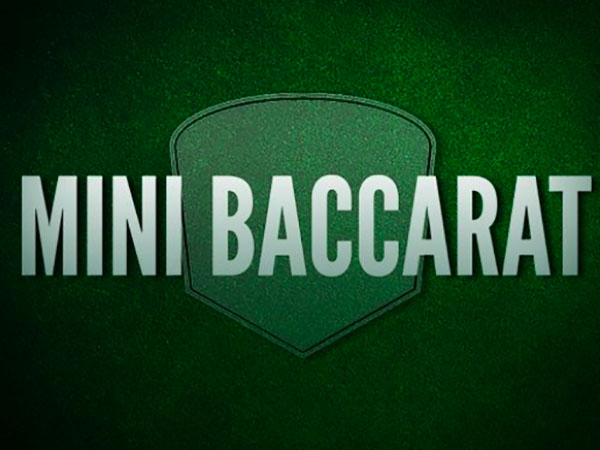 Mini Baccarat Strategies